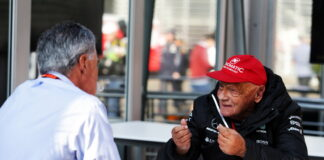 Chase Carey, Niki Lauda