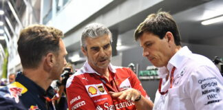 Christian Horner, Maurizio Arrivabene, Toto Wolff