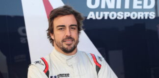 Fernando Alonso. United Autosports