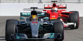 Lewis Hamilton, Sebastian Vettel, Russian Grand Prix