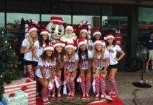 Atlanta Braves cheerleaders