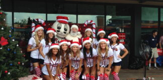 Atlanta Braves cheerleaders