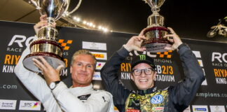 David Coulthard, Petter Solberg, Race of Champions