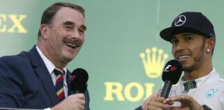 Nigel Mansell, Lewis Hamilton