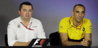 Baku City Circuit, Eric Boullier, Cyril Abiteboul