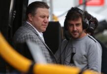 Zak Brown, Fernando Alonso, IndyCar