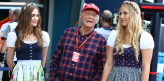Niki Lauda, Grid girls