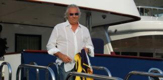 Force Blue, Flavio Briatore