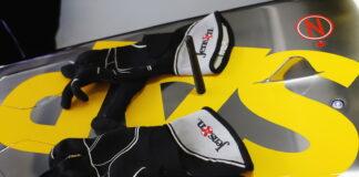 Jenson Button's gloves