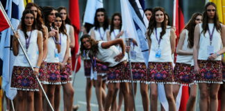 Grid girls, Azerbaijan Grand Prix