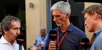 Alain Prost, Damon Hill, Simon Lazenby