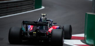 Pierre Gasly (FRA) Red Bull Toro Rosso Honda. 28.04.2018. Formula 1 World Championship, Rd 4, Azerbaijan Grand Prix, Baku Street Circuit, Azerbaijan, Qualifying Day. - www.automotorsport.az, EMail: info@automotorsport.az - copy of publication required for printed pictures. Every used picture is fee-liable. © Copyright: automotorsport.az
