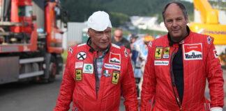 Niki Lauda, Gerhard Berger