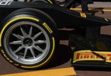 Pirelli 18 inch tyre, Monaco, 2015