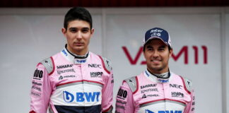 Esteban Ocon, Sergio Perez