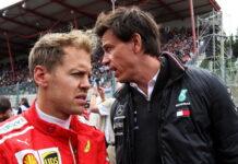Sebastian Vettel, Toto Wolff