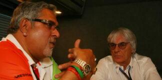 Vijay Mallya, Bernie Ecclestone