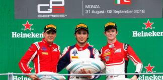 Giuliano Alesi, Pedro Piquet, Callum Ilott