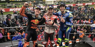 Alex Rins, Andrea Dovizioso, Pol Espargaro