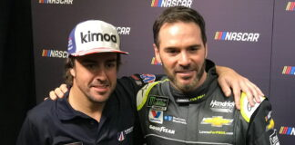 Fernando Alonso, Jimmie Johnson