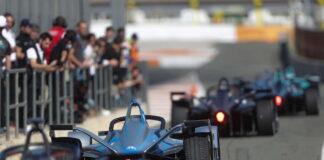 Formula E testing