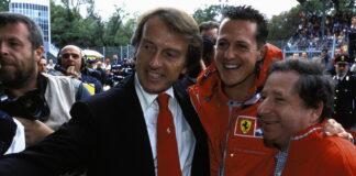 Michael Schumacher, Jean Todt, Luca di Montezemolo