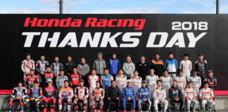 Honda Racing Thanks Days