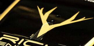 Rich Energy logo, Haas F1 Team