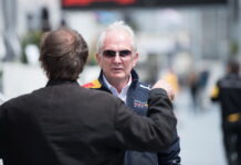 Helmut Marko. 28.04.2018. Formula 1 World Championship, Rd 4, Azerbaijan Grand Prix, Baku Street Circuit, Azerbaijan, Qualifying Day. - www.automotorsport.az, EMail: info@automotorsport.az - copy of publication required for printed pictures. Every used picture is fee-liable. © Copyright: automotorsport.az