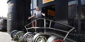 Mario Isola, Pirelli tyres 2019