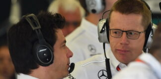 Toto Wolff, Andy Cowell