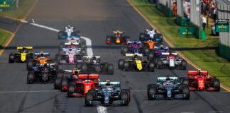 Start, Australian Grand Prix