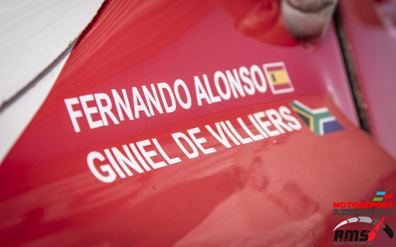 Fernando Alonso, Toyota Hilux, Dakar