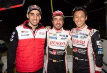 Sebastien Buemi, Fernando Alonso, Kazuki Nakajima