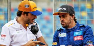 Carlos Sainz, Fernando Alonso