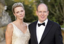 Prince Albert II, Princess Charlene of Monaco