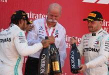 Lewis Hamilton, Valtteri Bottas, Dieter Zetsche