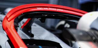 Niki Lauda Halo tribute