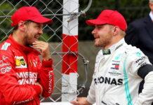 Sebastian Vettel, Valtteri Bottas