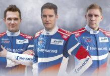 Mikhail Aleshin, Stoffel Vandoorne, Vitaly Petrov