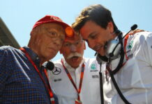 Niki Lauda, Dieter Zetsche, Toto Wolff
