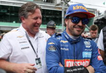 Zak Brown, Fernando Alonso