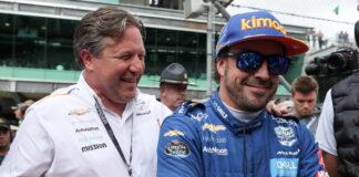 Zak Brown, Fernando Alonso