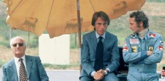 Enzo Ferrari, Luca di Montezemolo, Niki Lauda