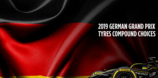 German Grand Prix, Tyre compound choices