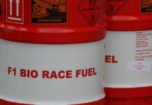 F1 bio race fuel