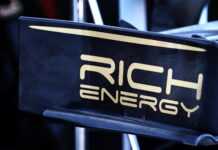 Rich Energy logo, Haas F1 Team