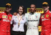 Sebastian Vettel, Lewis Hamilton, Charles Leclerc