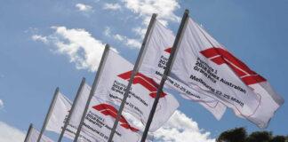 Formula 1 flags