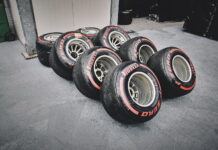 Pirelli Tyres. 29.04.2018. Formula 1 World Championship, Rd 4, Azerbaijan Grand Prix, Baku Street Circuit, Azerbaijan, Race Day. - www.automotorsport.az, EMail: info@automotorsport.az - copy of publication required for printed pictures. Every used picture is fee-liable. © Copyright: automotorsport.az